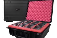 1_SiForce-Drive-Transporter-S40-Open-with-hard-drives-transporter-case-in-background