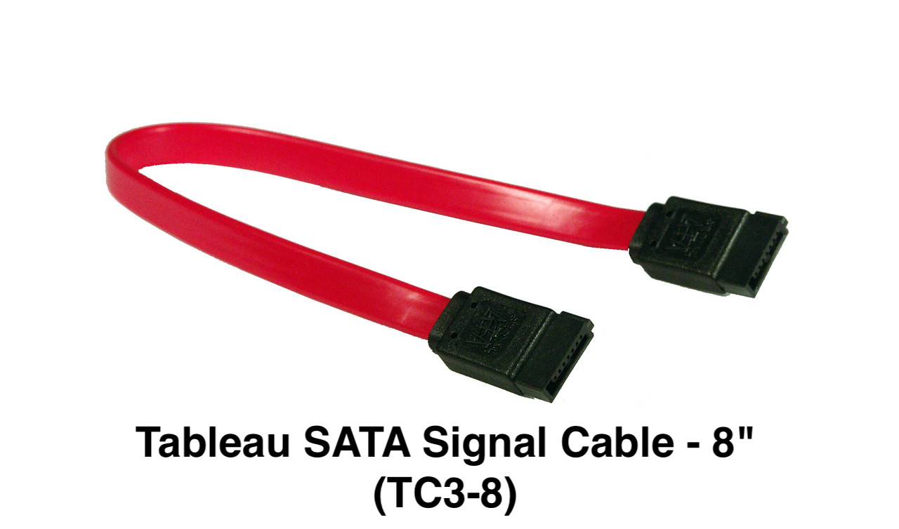 """Picture of Tableau SATA Signal Cable - 8"""""""