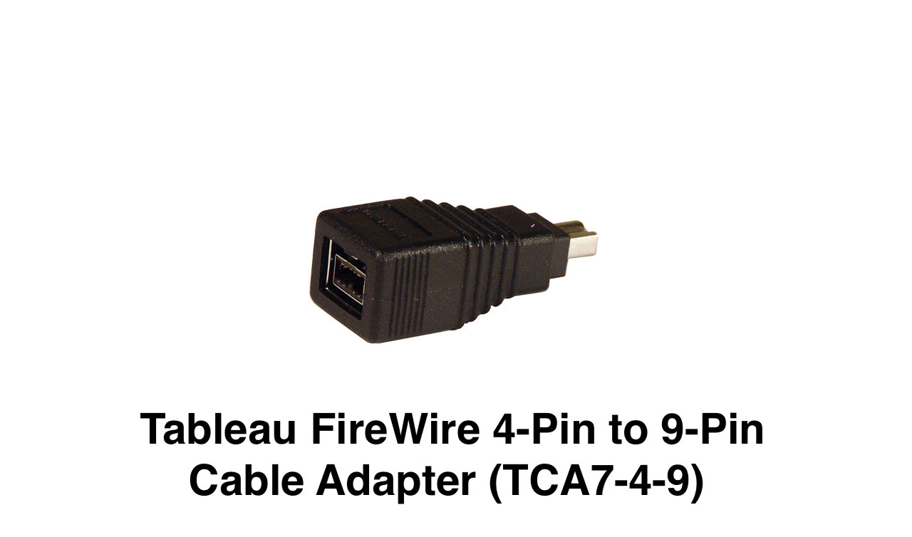 Picture of Tableau FireWire 4-Pin to 9-Pin Cable Adapter (TCA7-4-9)