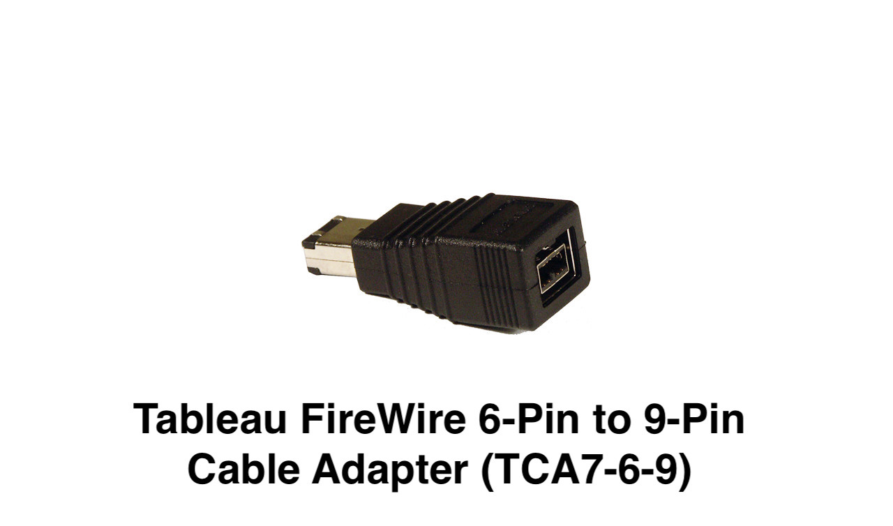 Picture of Tableau FireWire 6-Pin to 9-Pin Cable Adapter TCA7-6-9