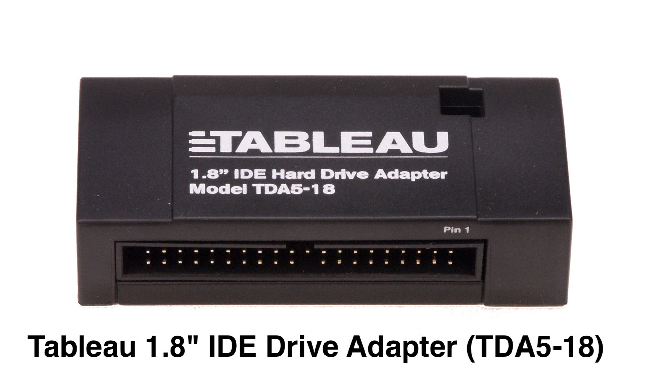 """Picture of TDA5-18 Tableau 1.8"""" IDE Drive Adapter"""