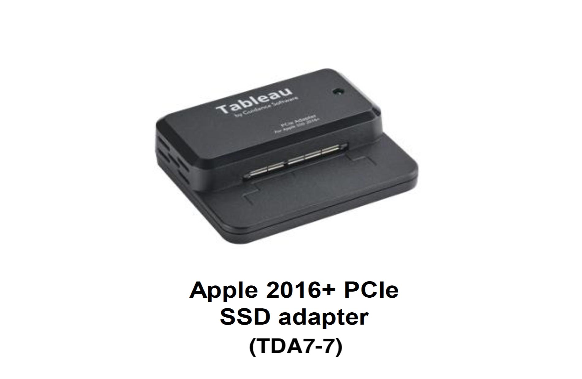 TDA7-7 Apple 2016+ PCIe SSD Adapter
