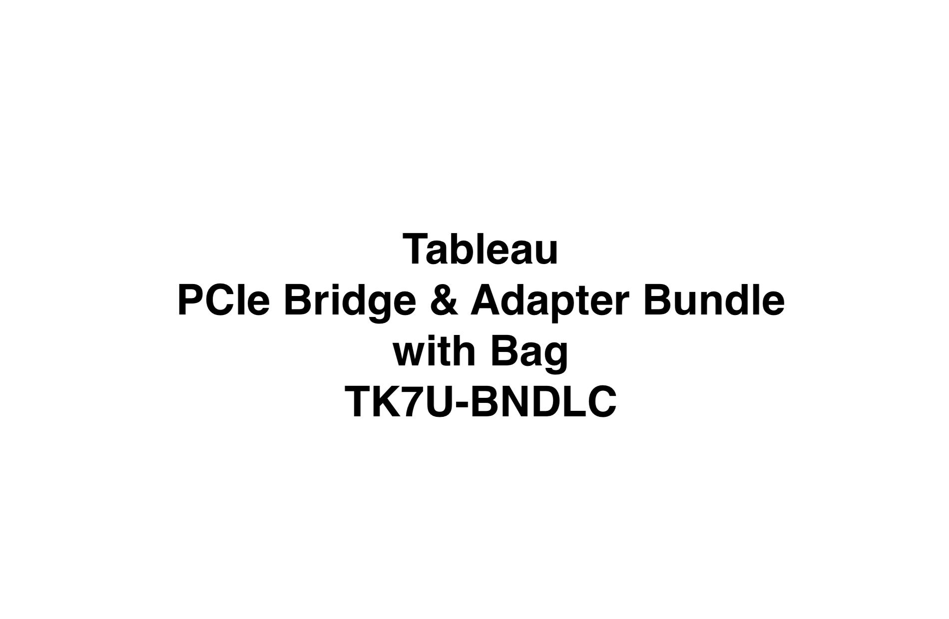 Picture of PCIe Bridge and Adapter Bundle (TK7U-BNDLC)
